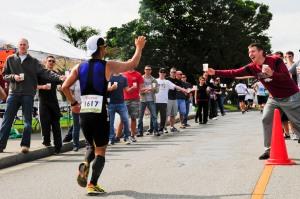 Kadena supports the Okinawa Marathon